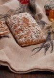 Artisanaal broodbrood stock afbeelding