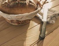 Artisanaal gebakken brood, vers royalty-vrije stock afbeelding