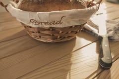 Artisanaal gebakken brood, vers royalty-vrije stock afbeeldingen