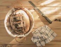 Artisanaal gebakken brood, vers stock afbeeldingen