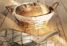 Artisanaal gebakken brood, vers royalty-vrije stock fotografie
