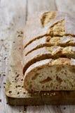 Artisanaal gespeld brood royalty-vrije stock foto