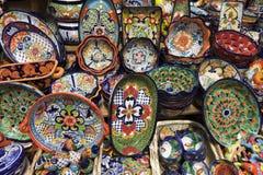 Artisanal Ceramic Pottery Royalty Free Stock Photo