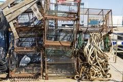 Artisanal fishing equipment Stock Image