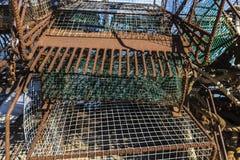 Artisanal fishing equipment Royalty Free Stock Images