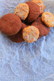 Artisanal home made cookies Stock Photos