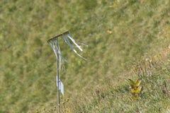 Artisanal wind direction indicator on Stanserhorn Royalty Free Stock Photos
