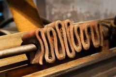Artisanat en cuir photographie stock