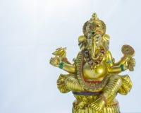 Artisanat indien : Lord Ganesha Images libres de droits