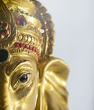 Artisanat indien : Lord Ganesha photo libre de droits