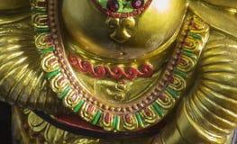 Artisanat indien : Lord Ganesha et le x27 ; ornement de s Images libres de droits
