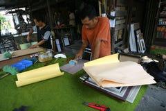 artisans Image libre de droits