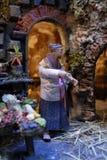 Artisans de San Gregorio Armeno photos libres de droits