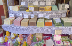 Artisans soaps Stock Images