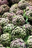 artisjokken groenten Volledig beeld Royalty-vrije Stock Foto's