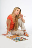 Artist Stock Photo