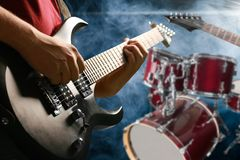 Artist. Band blues concert drum drummer editorial Royalty Free Stock Photography