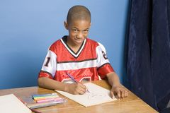 Artist as a boy Royalty Free Stock Photography