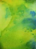 Artist Background On Canvas. Acrylic colors, spread over artist's canvas Stock Photos