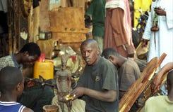 Artist, Bamako, Mali Stock Photography