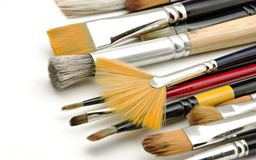 Artist Brushes Royalty Free Stock Image