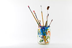 Artist Brushes Royalty Free Stock Photo