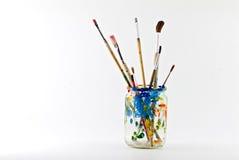 Free Artist Brushes Royalty Free Stock Photo - 4909815