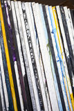Artist canvases. Artist stacked canvases on a studio Stock Image