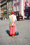 Artist clown Stock Image