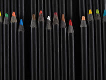 Artist Color Pencils Stock Image