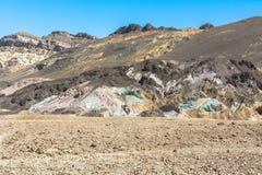 Artist Drive, Death Valley, California Stock Photos
