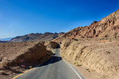 Artist drive in Death Valley National Park, California, USA Stock Photos
