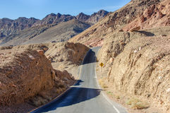 Artist drive in Death Valley National Park, California, USA royalty free stock photo