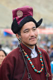 Artist on Festival of Ladakh Heritage Royalty Free Stock Image