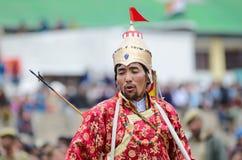 Artist on Festival of Ladakh Heritage Stock Photography