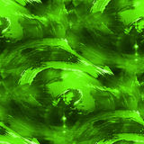 Artist green seamless cubism abstract art texture. Watercolor wallpaper background Stock Photo