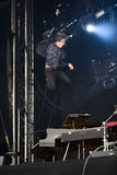 Artist Jamie Cullum, concert in the city of Pori, Finland Royalty Free Stock Image