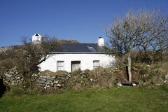 Artist John Piper's cottage in Pembrokeshire, South Wales royalty free stock images