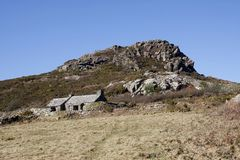 Artist John Pipers cottage in Pembrokeshire, South Wales royalty free stock images