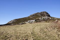 Artist John Pipers cottage in Pembrokeshire, South Wales royalty free stock photos