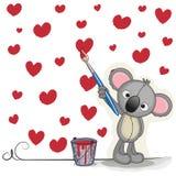 Artist Koala Royalty Free Stock Image