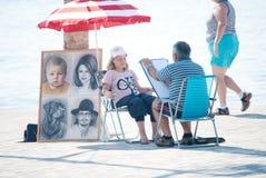 Artist life Stock Photo