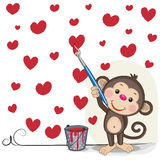 Artist Monkey Stock Photography