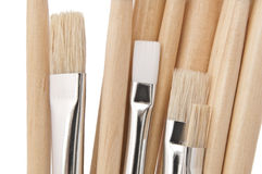 Artist paint brushes. Royalty Free Stock Image