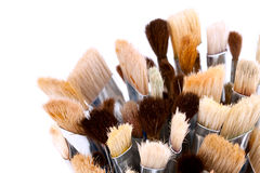 Artist paintbrushes Stock Images