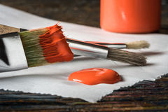 Artist Paintbrushes Royalty Free Stock Photo
