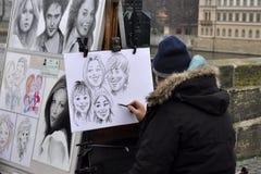 Artist painter Royalty Free Stock Photos