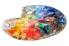 Artist Palette royalty free stock photos