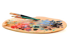 Artist Palette royalty free stock image