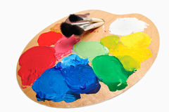 Artist Palette Royalty Free Stock Photography